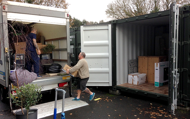 exeter storage space to hire